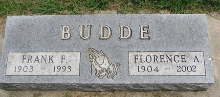 BUDDE, FLORENCE ANNE - Union County, South Dakota   FLORENCE ANNE BUDDE - South Dakota Gravestone Photos