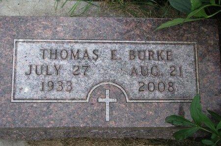 "BURKE, THOMAS E. ""TOM"" - Union County, South Dakota | THOMAS E. ""TOM"" BURKE - South Dakota Gravestone Photos"