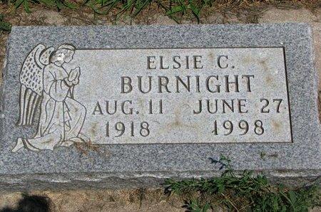BURNIGHT, ELSIE CAROLYN - Union County, South Dakota | ELSIE CAROLYN BURNIGHT - South Dakota Gravestone Photos