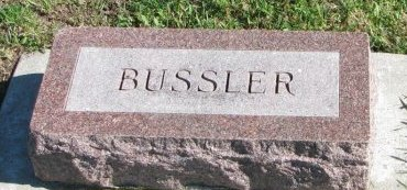 BUSSLER, ELMER W. - Union County, South Dakota | ELMER W. BUSSLER - South Dakota Gravestone Photos