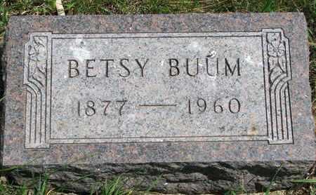 BUUM, BETSY - Union County, South Dakota | BETSY BUUM - South Dakota Gravestone Photos
