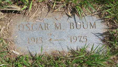 BUUM, OSCAR MELVIN - Union County, South Dakota   OSCAR MELVIN BUUM - South Dakota Gravestone Photos