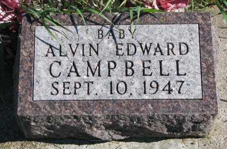 CAMPBELL, ALVIN EDWARD - Union County, South Dakota | ALVIN EDWARD CAMPBELL - South Dakota Gravestone Photos