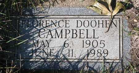 CAMPBELL, FLORENCE - Union County, South Dakota | FLORENCE CAMPBELL - South Dakota Gravestone Photos