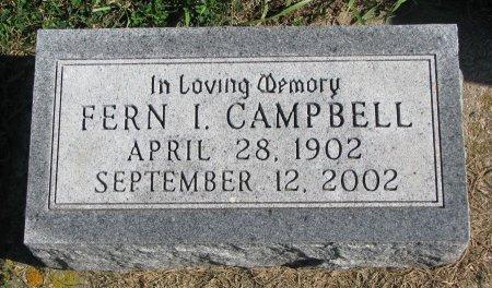 CAMPBELL, FERN I. - Union County, South Dakota   FERN I. CAMPBELL - South Dakota Gravestone Photos