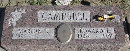 CAMPBELL, EDWARD E. - Union County, South Dakota | EDWARD E. CAMPBELL - South Dakota Gravestone Photos