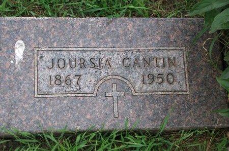 CANTIN, JOURSIA - Union County, South Dakota | JOURSIA CANTIN - South Dakota Gravestone Photos