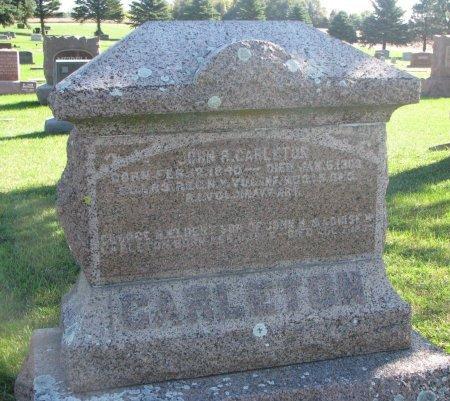 CARLETON, JOHN RATHBURN   - Union County, South Dakota | JOHN RATHBURN   CARLETON - South Dakota Gravestone Photos