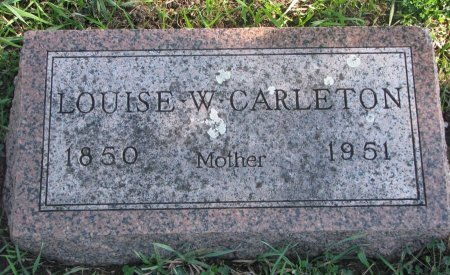 CARLETON, LOUISE  - Union County, South Dakota | LOUISE  CARLETON - South Dakota Gravestone Photos