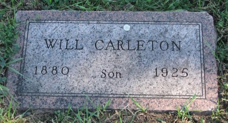 CARLETON, WILL - Union County, South Dakota | WILL CARLETON - South Dakota Gravestone Photos