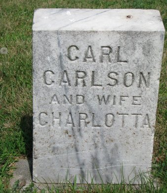 CARLSON, CHARLOTTA - Union County, South Dakota | CHARLOTTA CARLSON - South Dakota Gravestone Photos