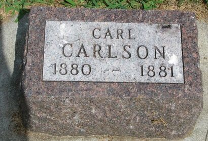 CARLSON, CARL - Union County, South Dakota | CARL CARLSON - South Dakota Gravestone Photos