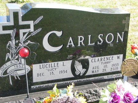 """CARLSON, LUCILLE L. """"LUCY"""" - Union County, South Dakota 