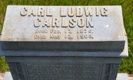 CARLSON, CARL LUDWIG (CLOSE UP) - Union County, South Dakota | CARL LUDWIG (CLOSE UP) CARLSON - South Dakota Gravestone Photos