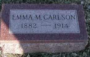 CARLSON, EMMA M - Union County, South Dakota   EMMA M CARLSON - South Dakota Gravestone Photos