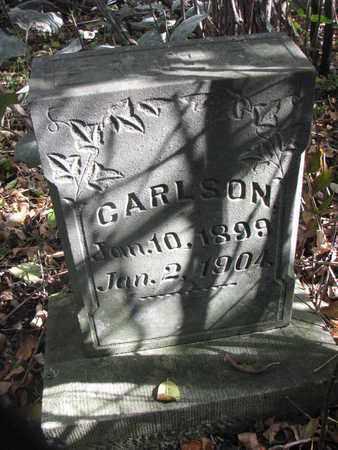 CARLSON, ERIC T. - Union County, South Dakota | ERIC T. CARLSON - South Dakota Gravestone Photos