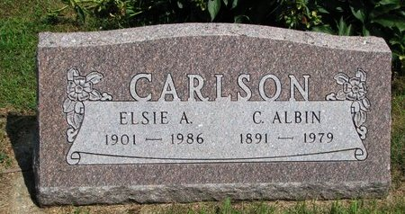 CARLSON, ELSIE ADINA RUTHTILDA - Union County, South Dakota | ELSIE ADINA RUTHTILDA CARLSON - South Dakota Gravestone Photos