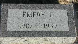 CARLSON, EMERY E - Union County, South Dakota | EMERY E CARLSON - South Dakota Gravestone Photos