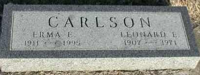 CARLSON, ERMA ELEANOR ANNA - Union County, South Dakota   ERMA ELEANOR ANNA CARLSON - South Dakota Gravestone Photos