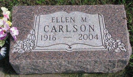 CARLSON, ELLEN M. - Union County, South Dakota   ELLEN M. CARLSON - South Dakota Gravestone Photos