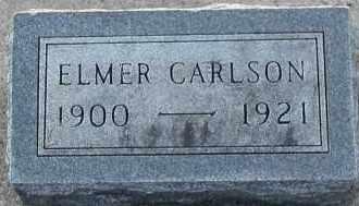 CARLSON, ELMER - Union County, South Dakota   ELMER CARLSON - South Dakota Gravestone Photos