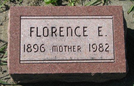 CARLSON, FLORENCE E. - Union County, South Dakota   FLORENCE E. CARLSON - South Dakota Gravestone Photos