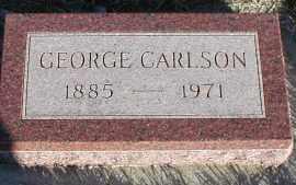 CARLSON, GEORGE - Union County, South Dakota   GEORGE CARLSON - South Dakota Gravestone Photos