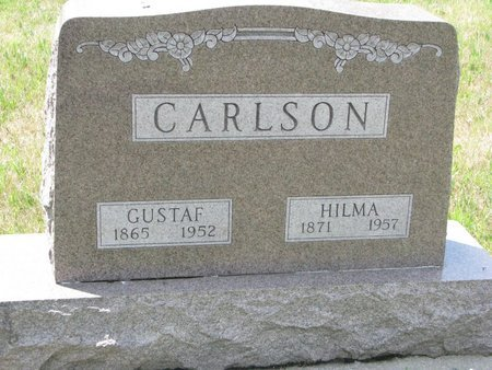 CARLSON, HILMA - Union County, South Dakota | HILMA CARLSON - South Dakota Gravestone Photos