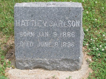 CARLSON, HATTIE V. - Union County, South Dakota | HATTIE V. CARLSON - South Dakota Gravestone Photos
