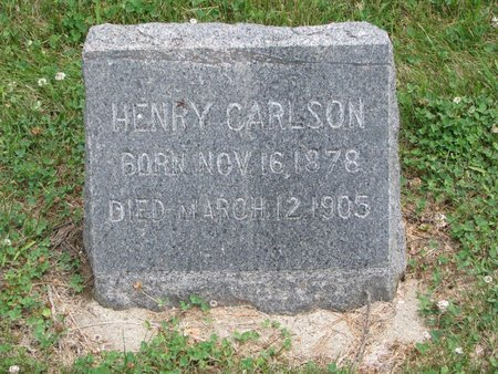 CARLSON, HENRY - Union County, South Dakota | HENRY CARLSON - South Dakota Gravestone Photos