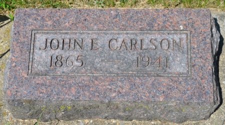 CARLSON, JOHN E. - Union County, South Dakota | JOHN E. CARLSON - South Dakota Gravestone Photos