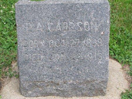CARLSON, PETER ADOLPH - Union County, South Dakota | PETER ADOLPH CARLSON - South Dakota Gravestone Photos