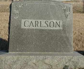 CARLSON, PLOT - Union County, South Dakota   PLOT CARLSON - South Dakota Gravestone Photos