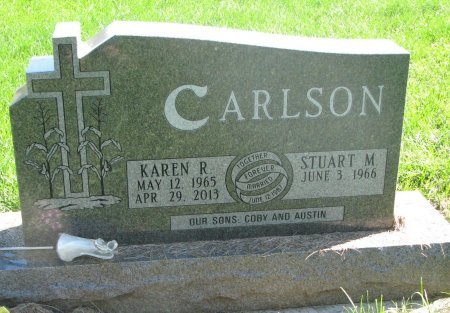 OSTREM CARLSON, KAREN RACHEL - Union County, South Dakota | KAREN RACHEL OSTREM CARLSON - South Dakota Gravestone Photos