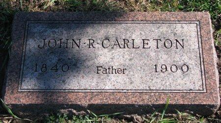 CARLETON, JOHN RATHBURN (FOOTSTONE) - Union County, South Dakota | JOHN RATHBURN (FOOTSTONE) CARLETON - South Dakota Gravestone Photos
