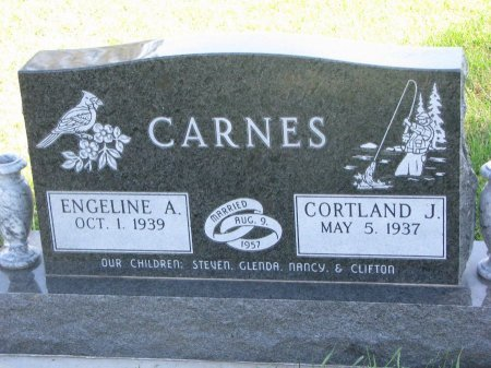 CARNES, ENGELINE A. - Union County, South Dakota | ENGELINE A. CARNES - South Dakota Gravestone Photos