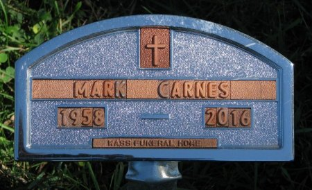 CARNES, MARK ALAN - Union County, South Dakota | MARK ALAN CARNES - South Dakota Gravestone Photos