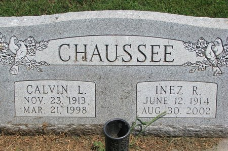 FOWLER CHAUSSEE, INEZ R. - Union County, South Dakota | INEZ R. FOWLER CHAUSSEE - South Dakota Gravestone Photos