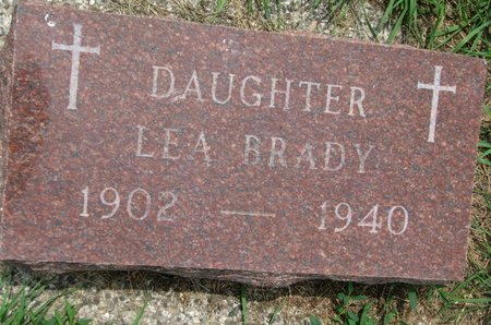 CHICOINE, LEA BRADY - Union County, South Dakota | LEA BRADY CHICOINE - South Dakota Gravestone Photos