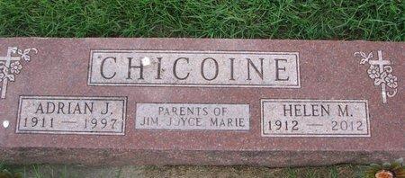 CHICOINE, ADRIAN J. - Union County, South Dakota | ADRIAN J. CHICOINE - South Dakota Gravestone Photos