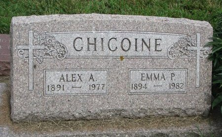 GUILLAUME CHICOINE, EMMA P. - Union County, South Dakota | EMMA P. GUILLAUME CHICOINE - South Dakota Gravestone Photos