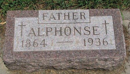CHICOINE, ALPHONSE - Union County, South Dakota | ALPHONSE CHICOINE - South Dakota Gravestone Photos
