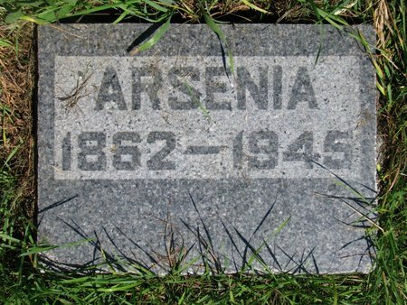 CHICOINE, ARSENIA - Union County, South Dakota | ARSENIA CHICOINE - South Dakota Gravestone Photos