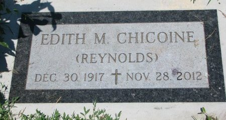 CHICOINE, EDITH MARY - Union County, South Dakota | EDITH MARY CHICOINE - South Dakota Gravestone Photos