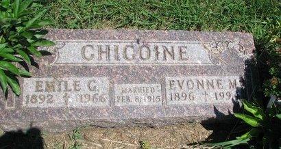 CHICOINE, EMILE G. - Union County, South Dakota | EMILE G. CHICOINE - South Dakota Gravestone Photos