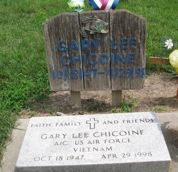 CHICOINE, GARY LEE (VIETNAM) - Union County, South Dakota | GARY LEE (VIETNAM) CHICOINE - South Dakota Gravestone Photos