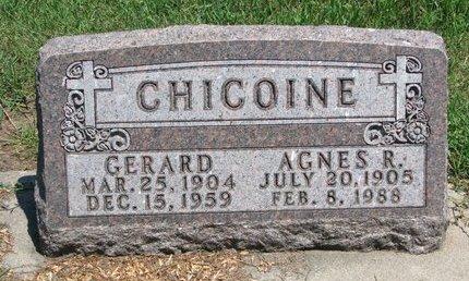 CHICOINE, GERARD - Union County, South Dakota | GERARD CHICOINE - South Dakota Gravestone Photos