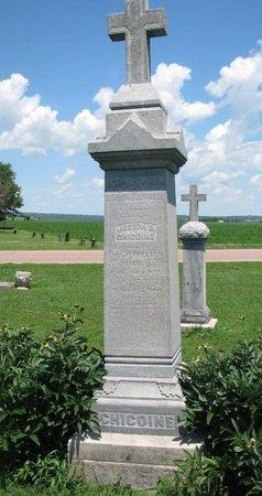 CHICOINE, JOSEPH P. - Union County, South Dakota | JOSEPH P. CHICOINE - South Dakota Gravestone Photos