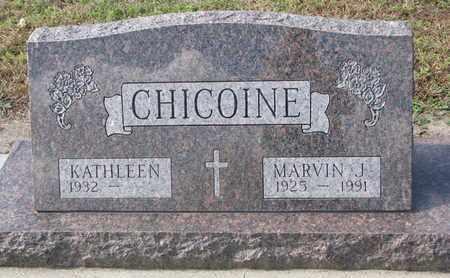 CHICOINE, MARVIN J. - Union County, South Dakota | MARVIN J. CHICOINE - South Dakota Gravestone Photos