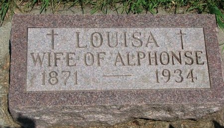 CHICOINE, LOUISA MARIE - Union County, South Dakota | LOUISA MARIE CHICOINE - South Dakota Gravestone Photos
